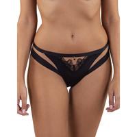 Unterwäsche Damen Damenslips Lisca Luxus-Slip Dream Perlschwarz