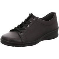 Schuhe Damen Sneaker Low Semler Schnuerschuhe X2015012/001 schwarz