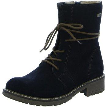 Schuhe Mädchen Boots Sabalin Schnuerstiefel 54-2691-384 asfalto blau