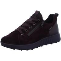 Schuhe Damen Sneaker Low Legero Schnuerschuhe 5-09641-59 rot