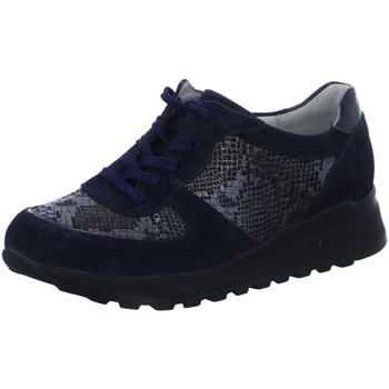 Schuhe Damen Derby-Schuhe & Richelieu Waldläufer Schnuerschuhe 364013 364013-303/763 blau