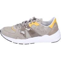 Schuhe Herren Sneaker Low Guardiani sneakers textil beige