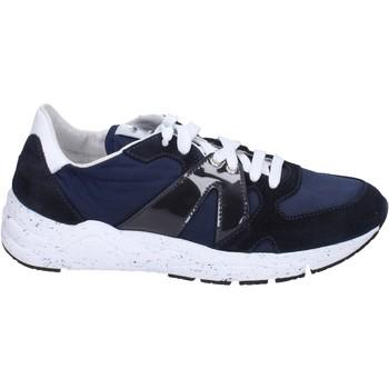 Schuhe Herren Sneaker Low Guardiani sneakers textil blau