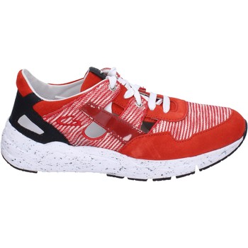 Schuhe Herren Sneaker Low Guardiani sneakers textil rot