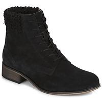 Schuhe Damen Boots André GODILLETTE Schwarz