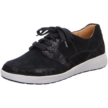 Schuhe Damen Sneaker Low Ganter Schnuerschuhe Klara 6-208143-0100 schwarz