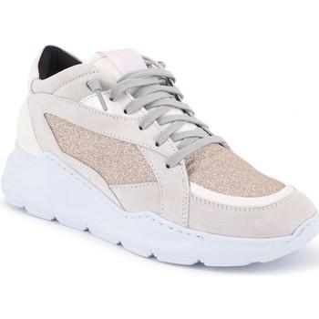 Schuhe Damen Sneaker Low P448 | Leia PlatinumGl | P448_F9LEIA PLATINUMGL Gris