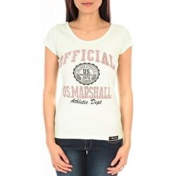 Kleidung Damen T-Shirts Sweet Company T-shirt US Marshall vert clair F.T110 Grün