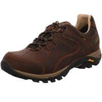 Schuhe Herren Wanderschuhe Meindl Sportschuhe Caracas GTX 3879 046 braun