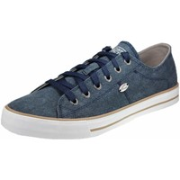 Schuhe Damen Sneaker Low Camel Active Schnuerschuhe Beat 70 878.70.01 blau