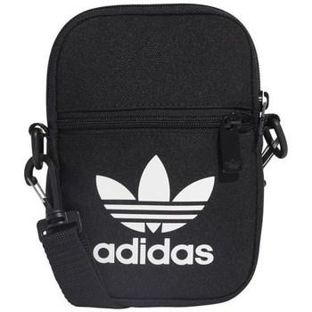 Taschen Umhängetaschen adidas Originals Fest Bag Trefoil Schwarz