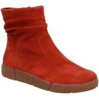 Schuhe Damen Boots Ara Stiefeletten Rom St. High Soft Boot 12-14437-06 rot