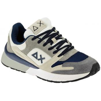 Schuhe Herren Sneaker Low Sun68 YAKY SUEDE MESH 3 COLOR sneakers Multicolor