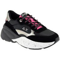 Schuhe Damen Sneaker Low Sun68 DANY BLACK sneakers Multicolor