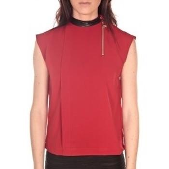 Kleidung Damen Tops / Blusen By La Vitrine Débardeur  Rouge Rot