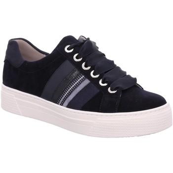 Schuhe Damen Sneaker Low Semler Schnuerschuhe A5185231/208 blau