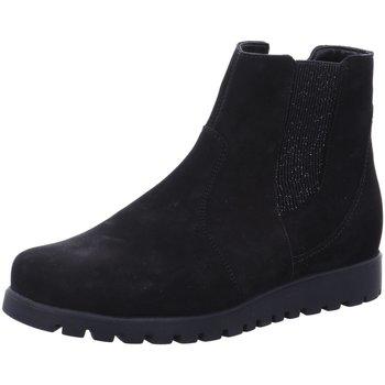 Schuhe Damen Kniestiefel Waldläufer Stiefeletten 549826-191-001 schwarz