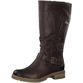 Schuhe Damen Klassische Stiefel Be Natural Stiefel Da.-Stiefel 8-8-26607-23/361 braun