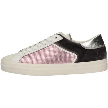 Schuhe Damen Sneaker Low Date W311-CV-BV-PK SILVER