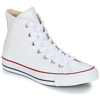 Schuhe Sneaker High Converse Chuck Taylor All Star CORE LEATHER HI Weiss