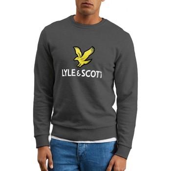 Kleidung Herren Sweatshirts Lyle & Scott   Logo Sweatshirt Grau   LYS_MLSML1022V 398 Gris