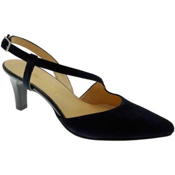 Schuhe Damen Pumps Soffice Sogno SOSO9360bl blu