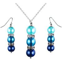 Uhren Damen Schmuck Blue Pearls OCP 0202 Multicolor