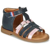 Schuhe Mädchen Sandalen / Sandaletten GBB GUINGUETTE Marine / Rose