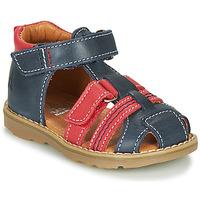 Schuhe Jungen Sandalen / Sandaletten GBB MACARON Marine / Rot
