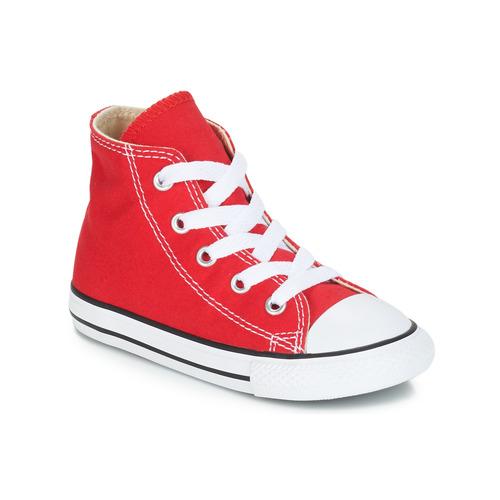Schuhe Kinder Sneaker High Converse CHUCK TAYLOR ALL STAR CORE HI Rot