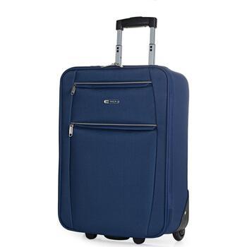 Taschen flexibler Koffer Itaca Cassley Marine Blau