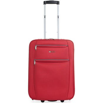 Taschen flexibler Koffer Itaca Cassley Rot