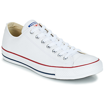 Schuhe Sneaker High Converse Chuck Taylor All Star CORE LEATHER OX Weiss