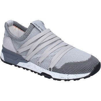 Schuhe Herren Sneaker Low Crime London sneakers textil grau