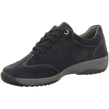 Schuhe Damen Derby-Schuhe & Richelieu Longo Schnuerschuhe -Schnürhalbschuh,blue 1033985 blau