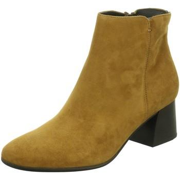 Schuhe Damen Low Boots Paul Green Stiefeletten 9609 9609-005 braun