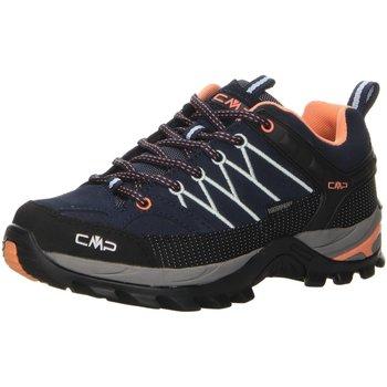 Schuhe Damen Fitness / Training Cmp F.lli Campagnolo Sportschuhe RIGEL LOW WMN TREKKING SHOES W,b.bl 3Q13246 92AD blau