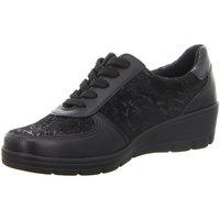Schuhe Damen Derby-Schuhe & Richelieu Diverse Schnuerschuhe -Schnürhalbschuh,black 1033979 schwarz
