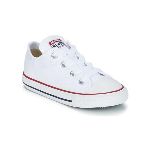 Schuhe Kinder Sneaker Low Converse CHUCK TAYLOR ALL STAR CORE OX Weiss