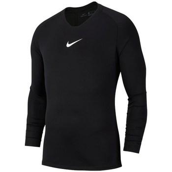 Kleidung Herren Langarmshirts Nike Dry Park First Layer Schwarz