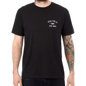 Kleidung Herren T-Shirts Supra T  CONTENDER Schwarz