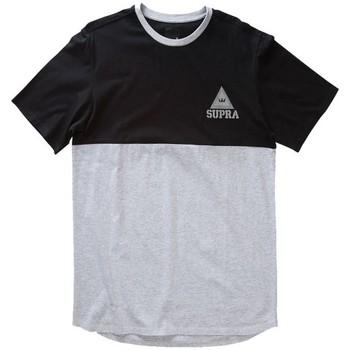 Kleidung Herren T-Shirts Supra T  CREW Grau