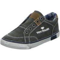 Schuhe Jungen Sneaker Low Tom Tailor Low 9670901,coal 9670901 grau
