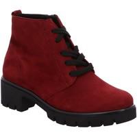 Schuhe Damen Low Boots Semler Stiefeletten SAMT-CHEVRO J30153042/062 rot