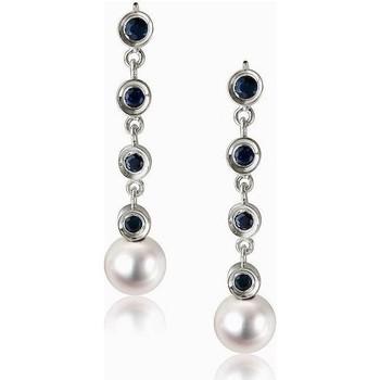 Uhren Damen Ohrringe Luna-Pearls O33-AE0056 Multicolor