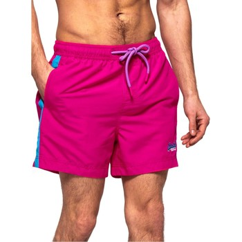 Kleidung Herren Badeanzug /Badeshorts Superdry BEACH VOLLEY SWIM SHORT rosa