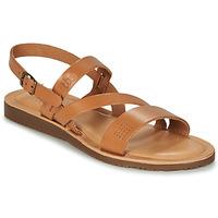 Schuhe Damen Sandalen / Sandaletten TBS BEATTYS Cognac