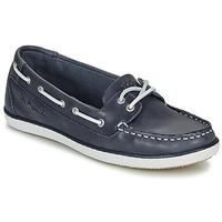 Schuhe Damen Bootsschuhe TBS CLAMER Marine