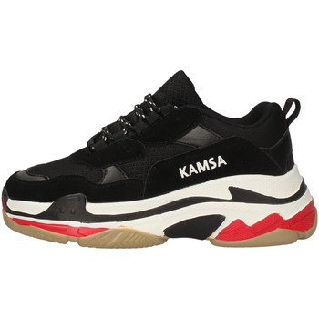Schuhe Herren Sneaker Low Kamsa VALENCIA BLACK
