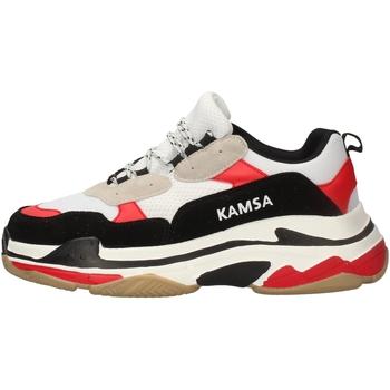 Schuhe Herren Sneaker Low Kamsa VALENCIA WEISS